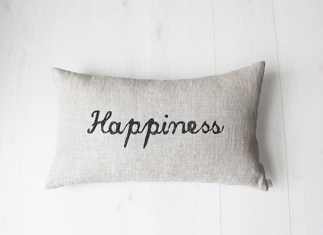 coussin happiness