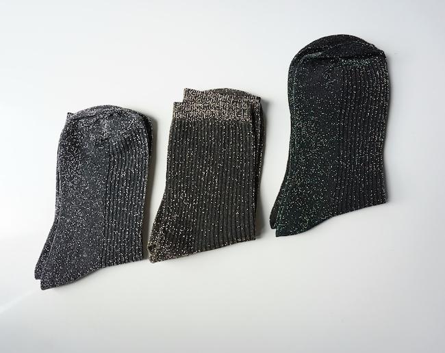 chaussettes lurex topshop