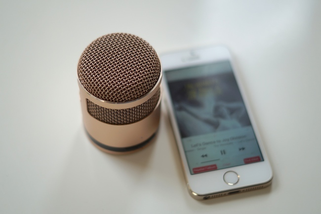 MINI ENCEINTE IPHONE