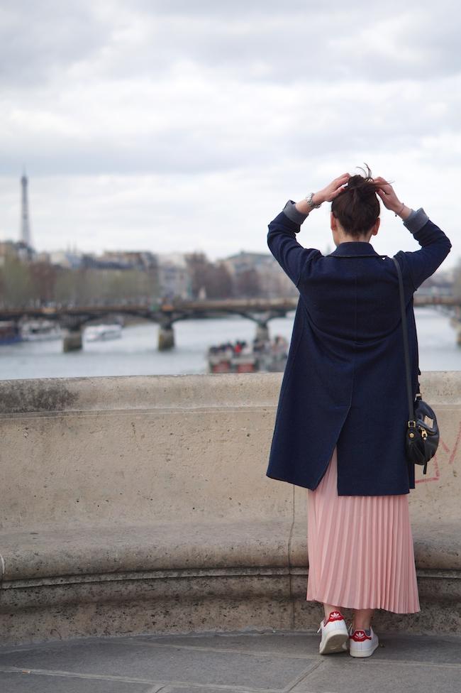 jupe longue rose