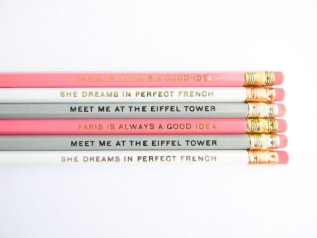 crayons papier paris