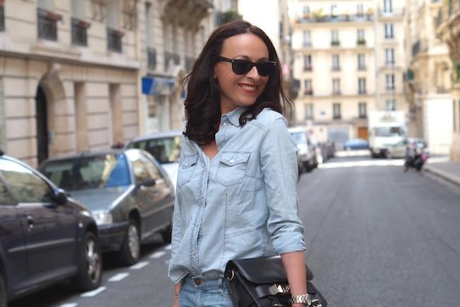 jean et chemise en jean