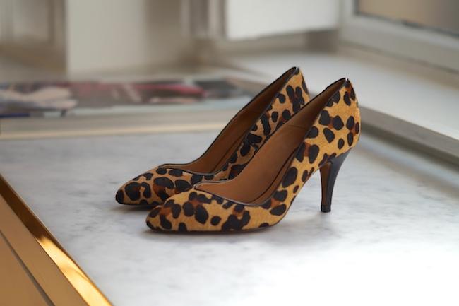 escarpins leopard sezane