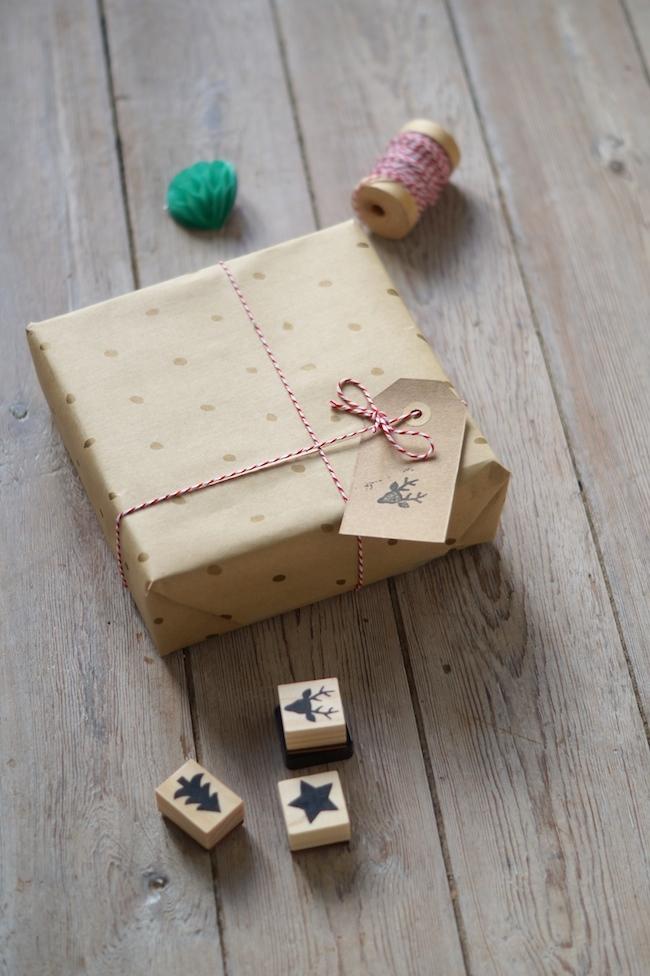 idees joli paquets cadeaux