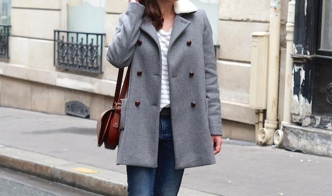 sezane manteau wharol