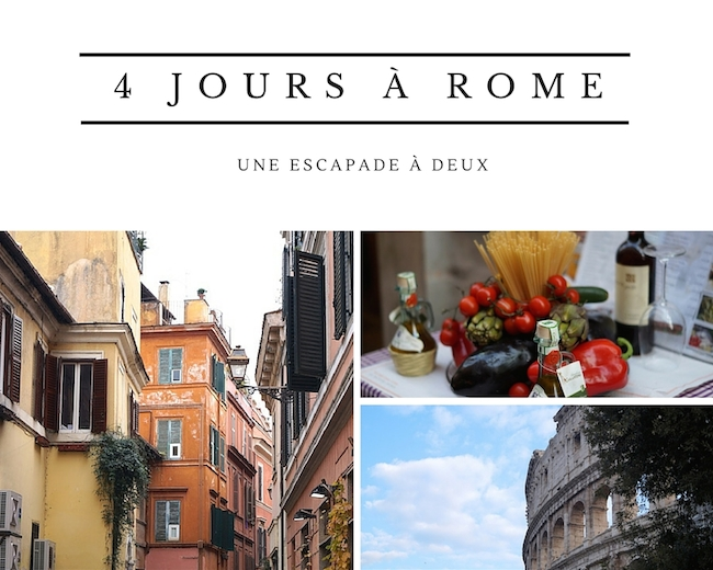 4 jours a rome