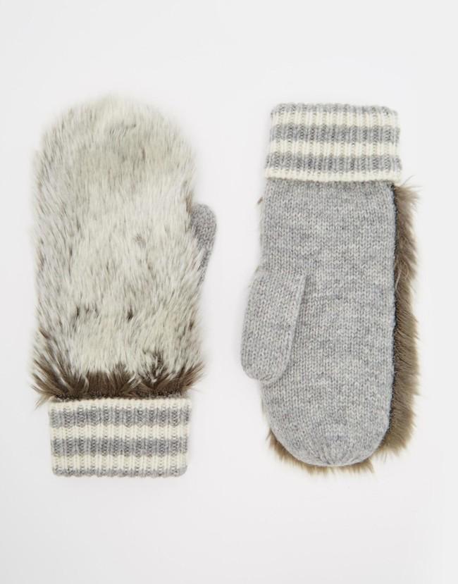 gants fourrure