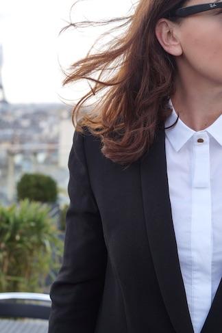 chemise blanche sunday life