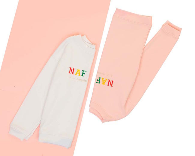 sweat naf naf reedition