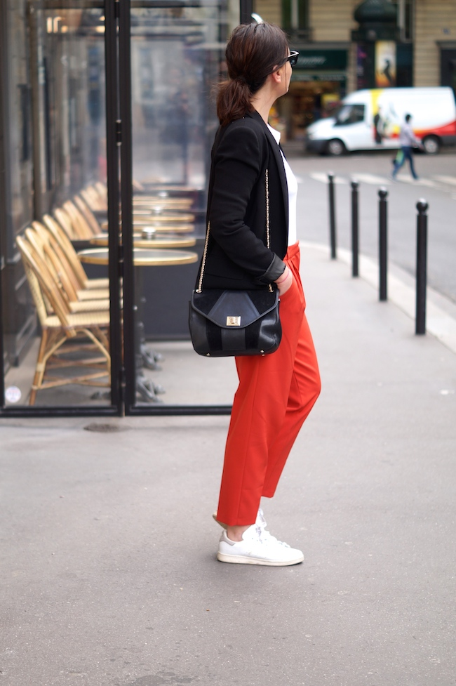 pantalon rouge asos