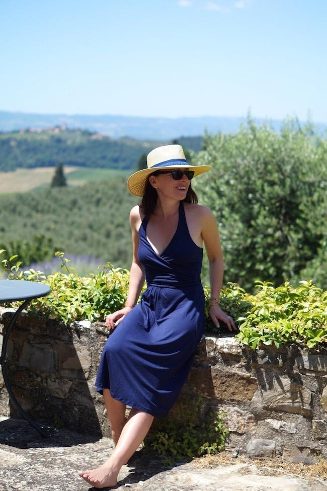 robe boden bleue