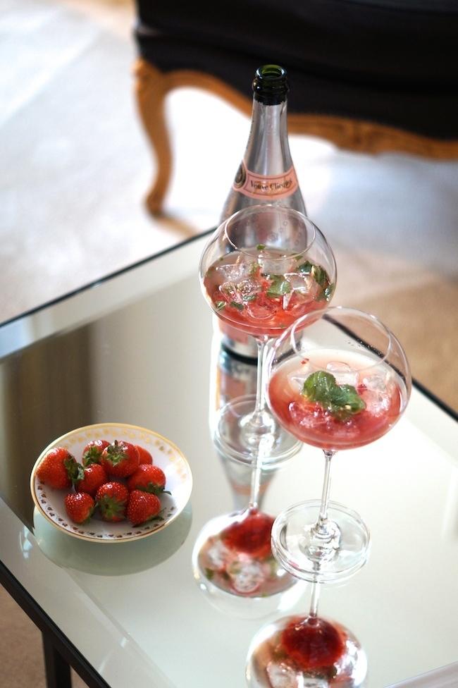 Une journ e chez veuve clicquot - Coupe champagne veuve clicquot ...