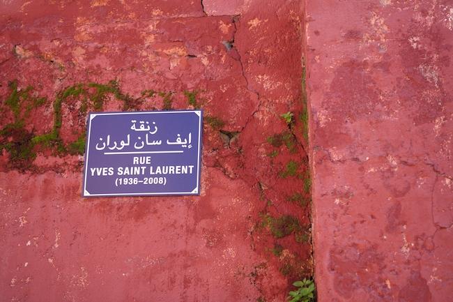 rue-yves-saint-laurent-marrakech