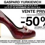 Ventes Gaspard Yurkievich / Sous les pavés