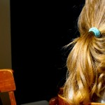 Cheveux blonds, idées courtes