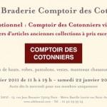 Braderie Comptoir des Cotonniers
