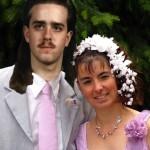 Coiffure de mariée à Nadège