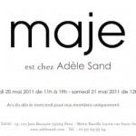 Vente presse Maje – mai 2011