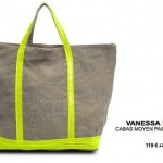 Le cabas lin/paillettes Vanessa Bruno à 119€