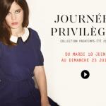 Journées Privilèges Claudie Pierlot